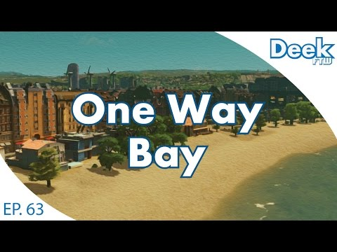 One Way Bay Ep.63 - New Metro Station in Old Bay - Cities Skylines