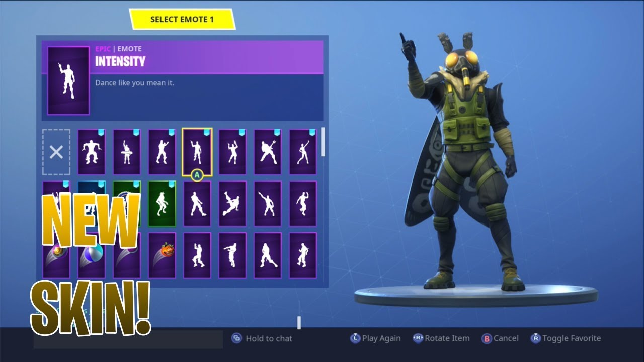 New Moth Skin With All Dances Emotes Fortnite Battle Royale New
