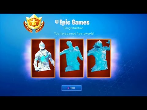 *FREE* Season 7 WINTER SKINS in Fortnite Battle Royale! - (How to UNLOCK WINTER ICE SKINS)