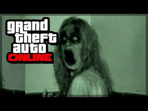 GTA 5 Online - GHOST CAUGHT ON CAMERA!? (GTA 5 Gameplay)