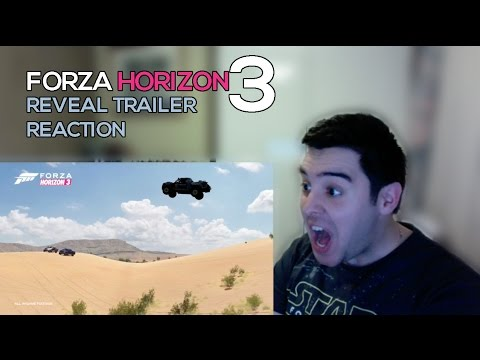 Forza Horizon 3 Trailer E3 Reaction
