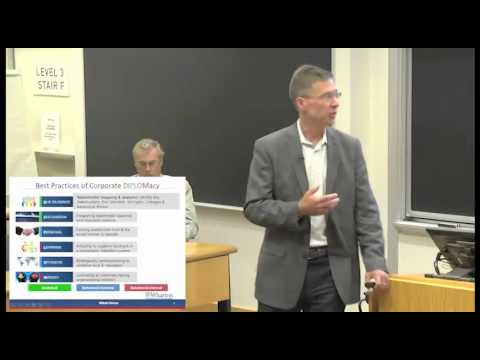Six Elements of Corporate Diplomacy: Witold Henisz - YouTube