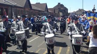 Saltcoats Protestant Boys annual parade 2013