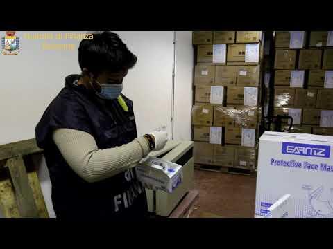 Guardia di Finanza: scoperto contrabbando di mascherine