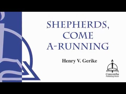 Shepherds, Come A-Running (Choir)