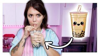 Wie schmeckt selbstgemachter Perlenmilchtee?