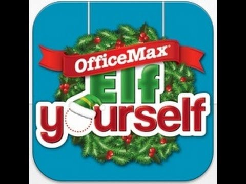 ElfYourself By OfficeMax IPhone App Review - CrazyMikesapps