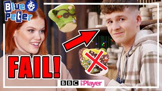 Adam Vs Lindsey Christmas Pottery Challenge *FAIL*