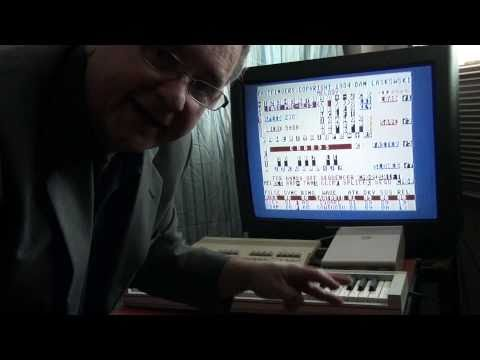 Commodore 64 FASTFINGERS Lead Synthesizer Part 1
