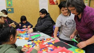 Johnny Therriault School Family Math Night - Aroland First Nation