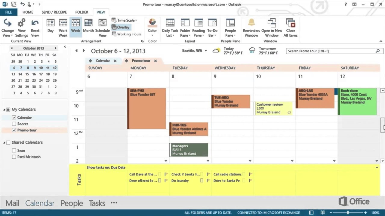 Office Calendar 365 : Microsoft office outlook calendar training
