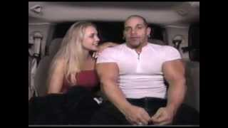Huge Bodybuilder on Blind Date -- Great see thru muscle shirt!