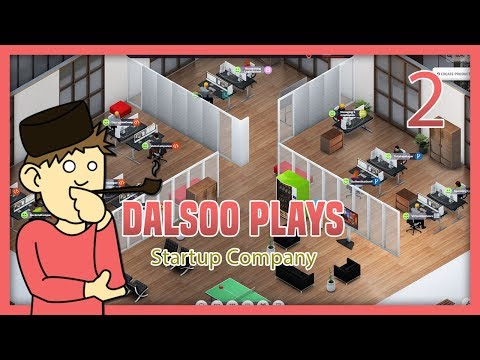 Startup Company - Tycoon style business management sim - Gameplay/Tutorial - Part two