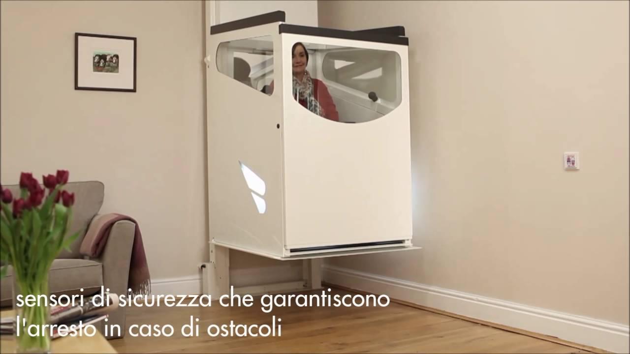 Miniascensore stratum by stannah il miniascensore per persone in sedia a rotelle youtube - Mini ascensori da interno ...