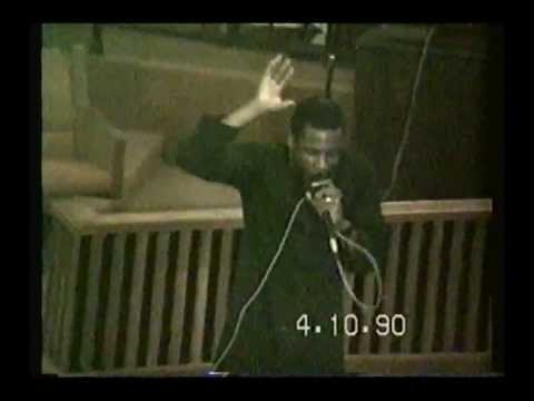 """Bishop Noel Jones - """" When Some Where Is No Where , Will You Still Follow Jesus?"""