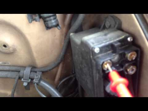 Quick Glow Plug Relay Check