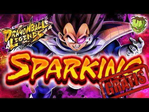 TODOS LOS SPARKING GRATIS! ///  DRAGON BALL LEGENDS