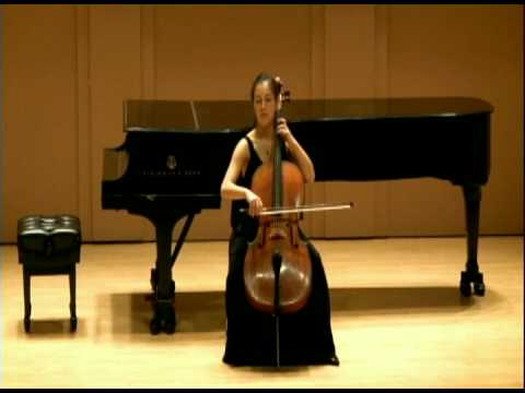 Meta Weiss, Cello - Bach Suite No 3 in C Major - Bourees I and II