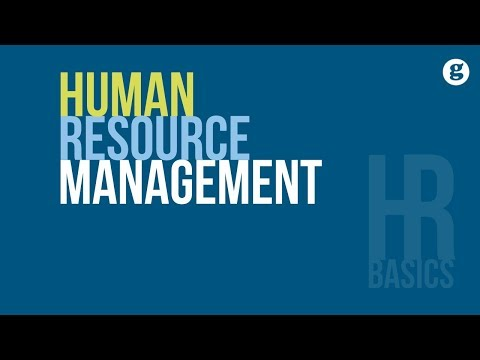 HR Basics: Human Resource Management