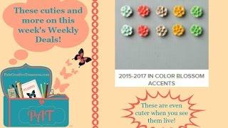 Stampin' Up's Weekly Deals - Oct 27 - Nov 2