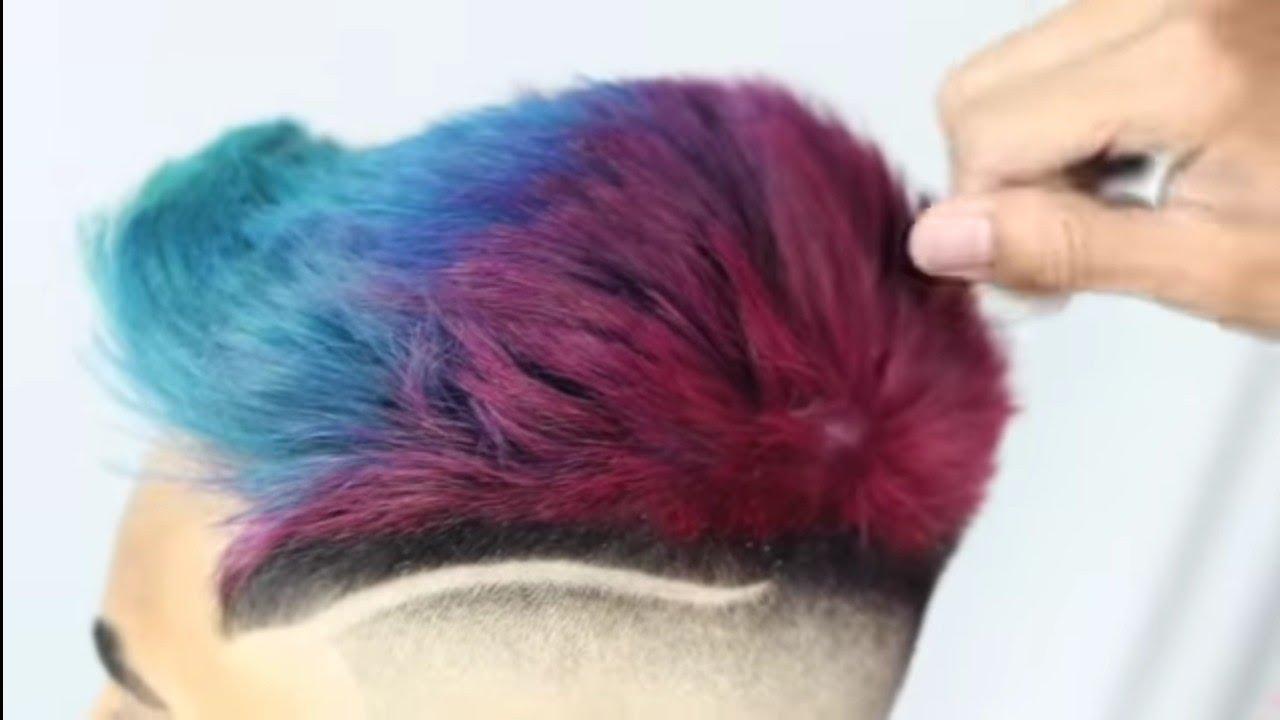 Model rambut pria keren | Terbaru 2020 - YouTube