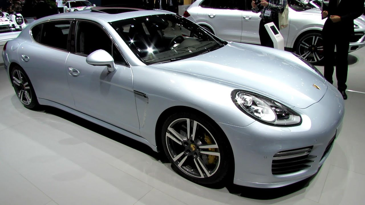 2014 porsche panamera turbo s executive exterior and interior walkaround 2014 geneva motor. Black Bedroom Furniture Sets. Home Design Ideas