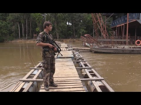 The fight against illegal gold mining in French Guiana