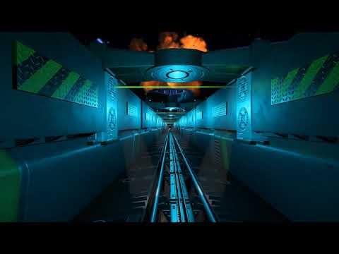 EPIC Futuristic Roller Coaster! Front Seat POV  