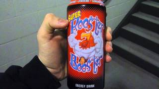 Energy Drink Review: Rooster Booster QT Brand
