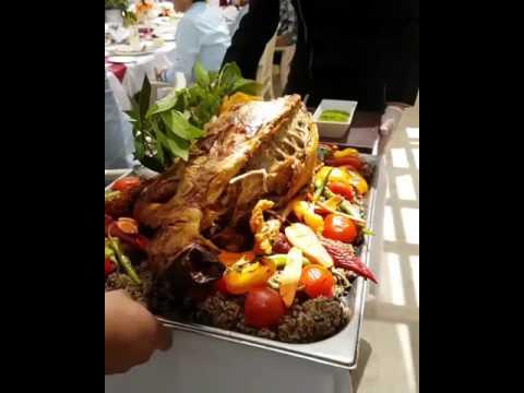Saudi Cuisine Fresh Lamb With Rice Mandi