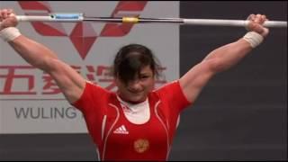 08 11 2011   Светлана Царукаева рывок 117 кг