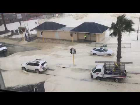 Cape Town storm - 7 June  2017 (sea point)