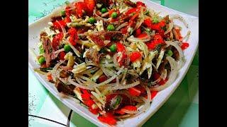 ЗАКУСКА ПО-ПРАЖСКИ. Вкусный салат БЕЗ МАЙОНЕЗА