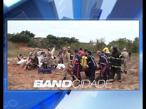 Sobrevivente de queda de avião foi transferido para São Paulo