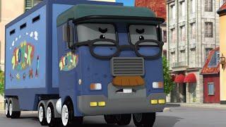 Робокар - мультики про машинки - Храбрый господин Масти (HD) - Серия 43(В городок робокаров прибывает подозрительный грузовик Икс и похищает детей! Но господин Масти - дедушка..., 2014-09-05T12:30:01.000Z)