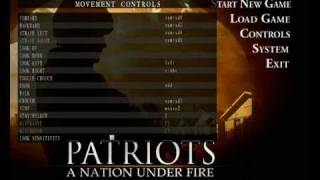 Játékbemutató - Patriots: A Nation under fire (1)