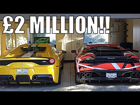 WHY MY FRIEND BOUGHT £2 MILLION OF SUPERCARS!!