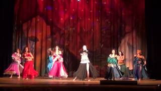 "Belly dance ""Mashallah - Ek Tha Tiger"" (Beginners)"