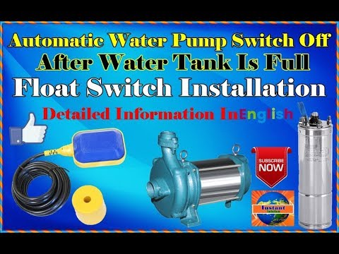 float switch installation for water tank float switch. Black Bedroom Furniture Sets. Home Design Ideas