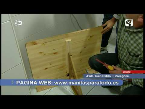 Colocar mesa abatible en cocina youtube for Mesa abatible pared cocina