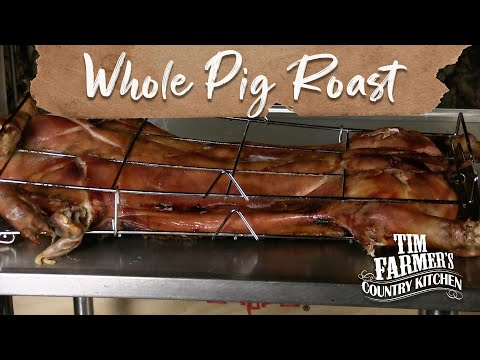 COOK A WHOLE PIG IN UNDER 5 HOURS!