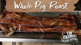 WHOLE PIG ROAST | Cook a Whole Pig in Under 5 Hours