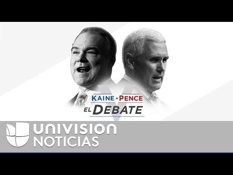 Debate Vicepresidencial 2016: Tim Kaine vs. Mike Pence en español