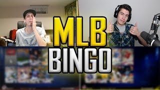 MLB BINGO w/ TWINGAMINGTV - CLOSE BATTLE - MLB 17 THE SHOW DIAMOND DYNASTY PACK OPENING