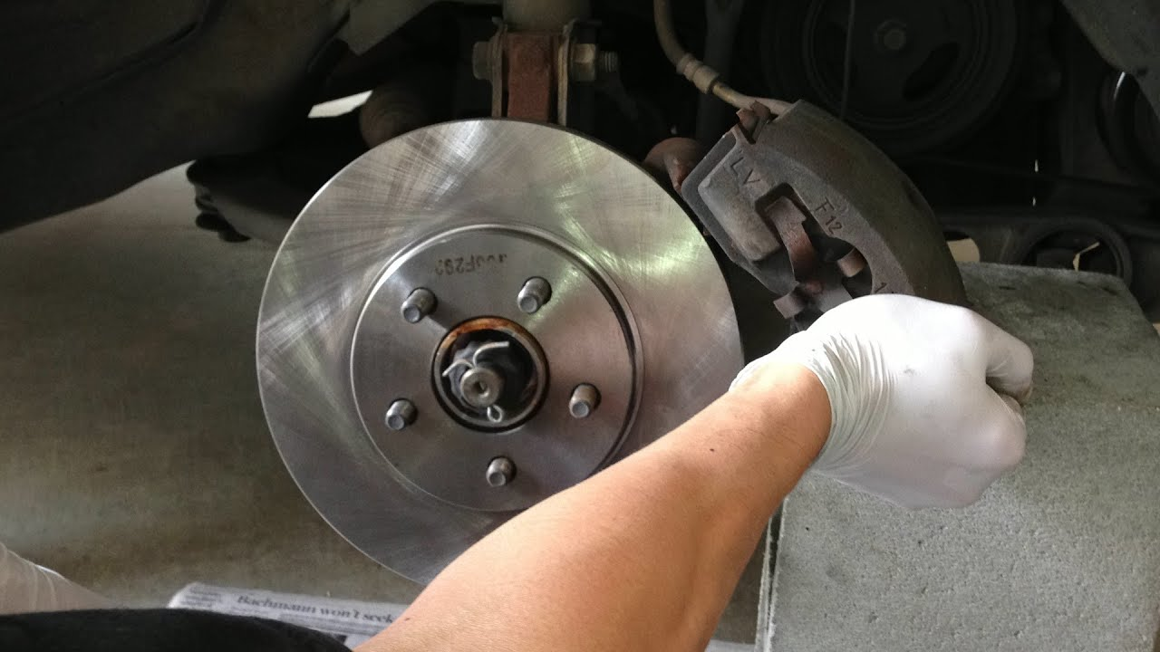 Tutorial Change Front Brake Pads And Rotors On A 2004