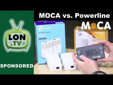 MOCA vs. Powerline : G.hn (Comtrend) and Homeplug AV2 (TpLink AV1000) compared!