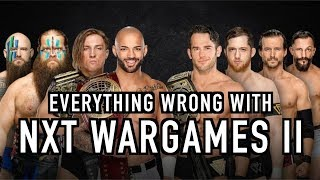 Episode #394: Everything Wrong With NXT TakeOver: WarGames II
