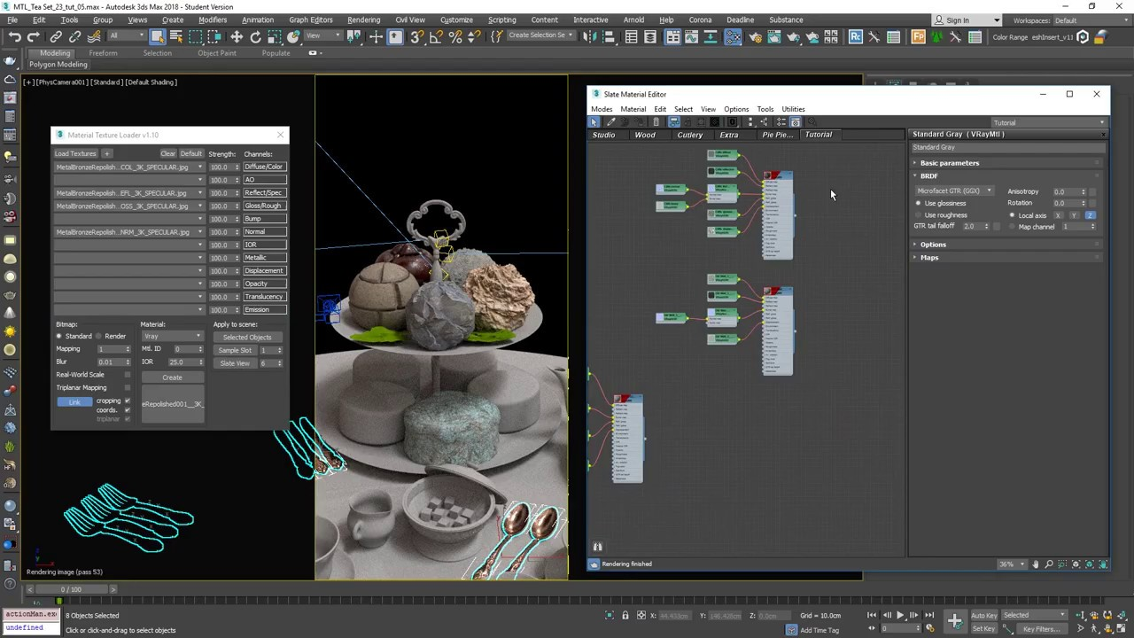 Material Texture Loader v1 1 for 3ds Max - Plugins Reviews and