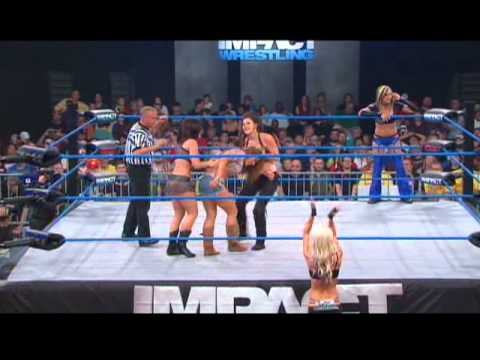 Winter and Madison Rayne vs Mickie James and Velvet Sky