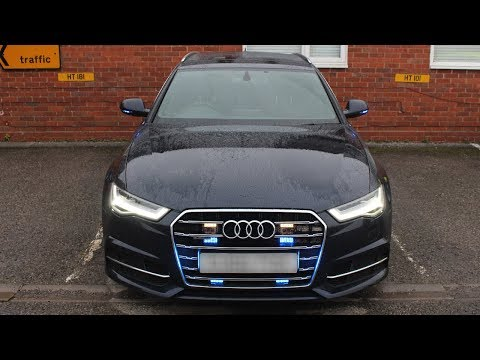 Sussex Police - Unmarked Police Car - Audi A6